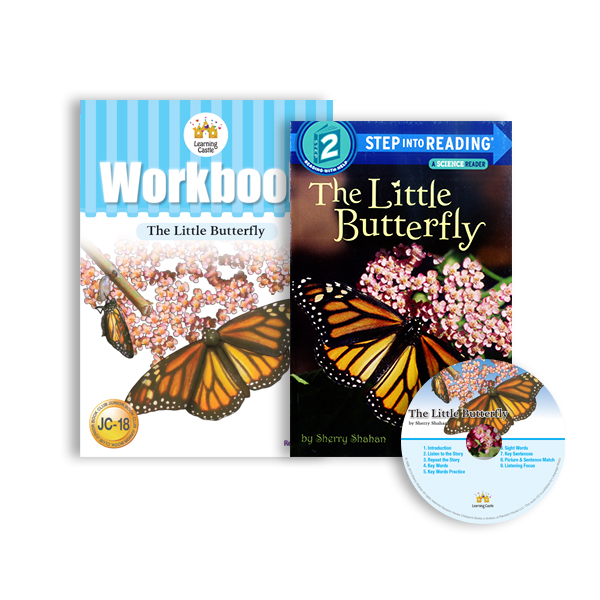러닝캐슬 JC-18-The Little Butterfly (SB+WB+CD)