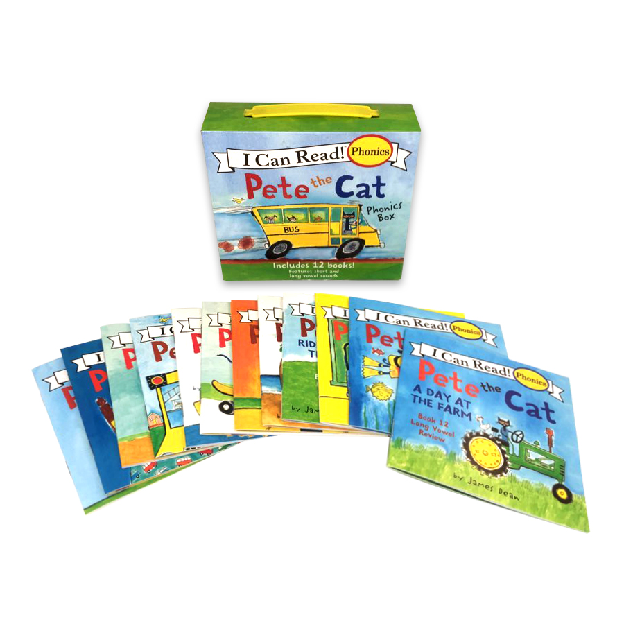 Pete the Cat Phonics Box (My First I Can Read)