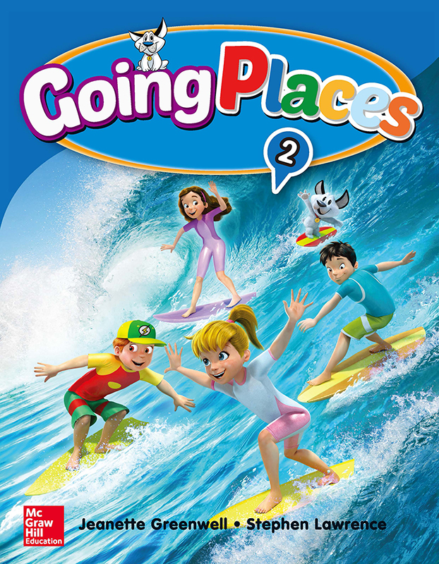 Thumnail : Going Places Level 2 Student Book with Workbook