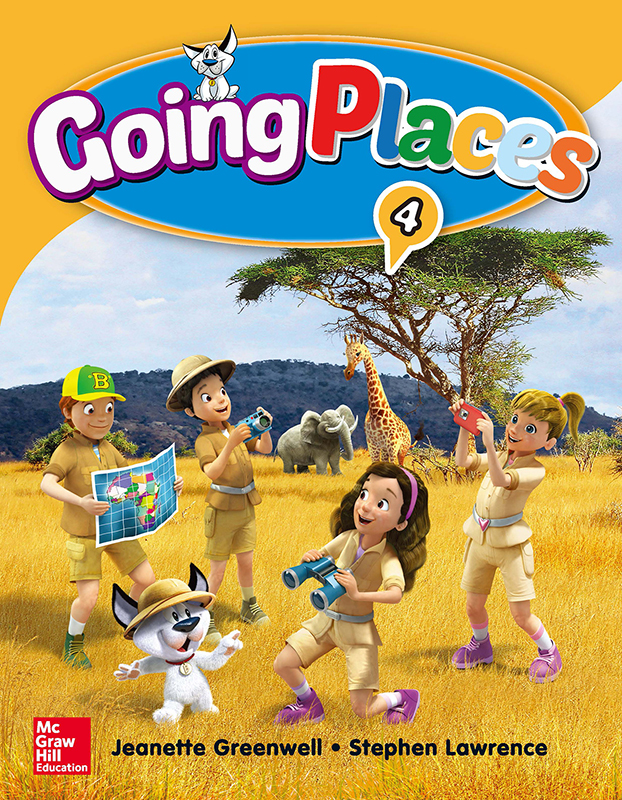 Thumnail : Going Places Level 4 Student Book with Workbook