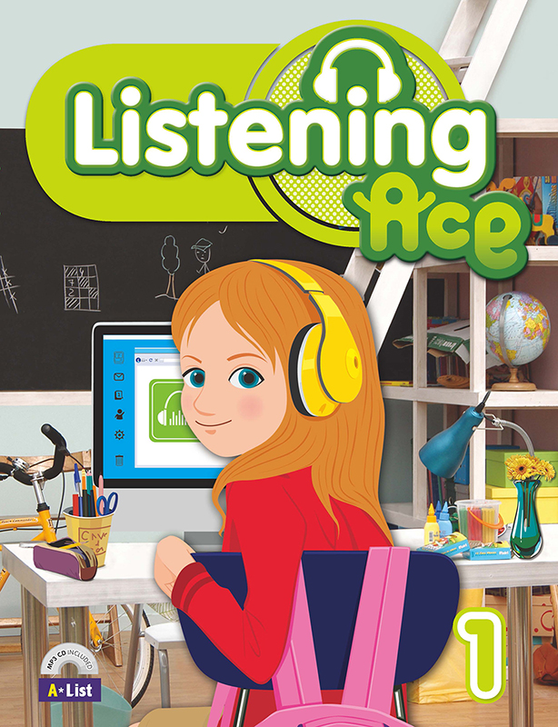Thumnail : Listening Ace 1 (B+W+CD)