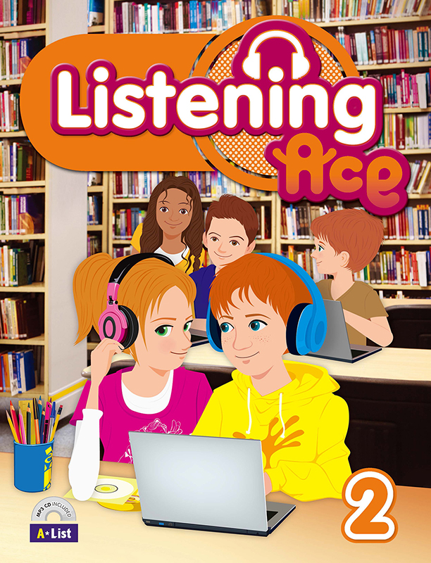 Thumnail : Listening Ace 2 (B+W+CD)