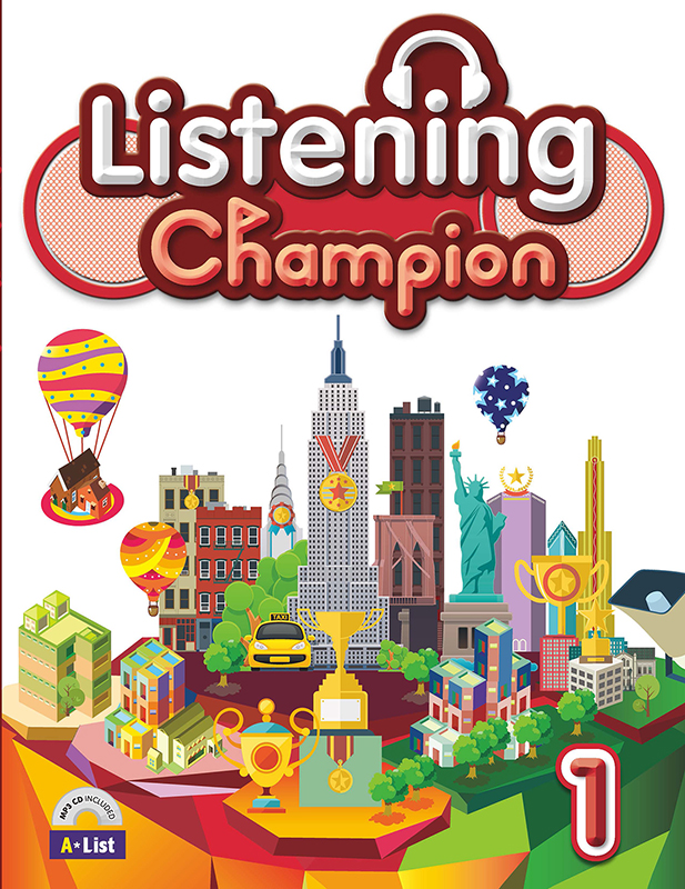 Thumnail : Listening Champion 1 (B+W+CD)