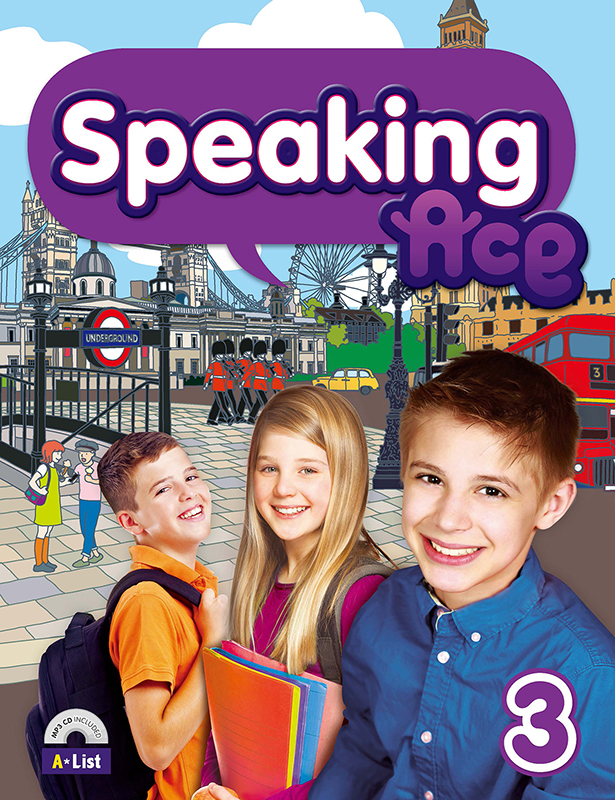 Speaking Ace 3 (B+W+CD)