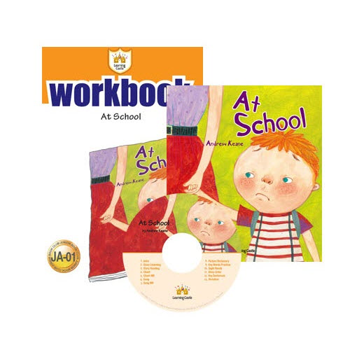 러닝캐슬 JA-01-At School (SB+WB+CD)